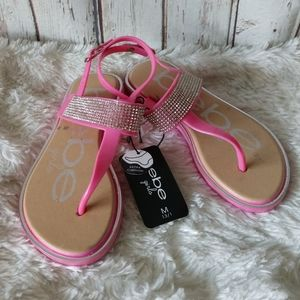 Size 2 NWT BEBE Bedazzled Sandals